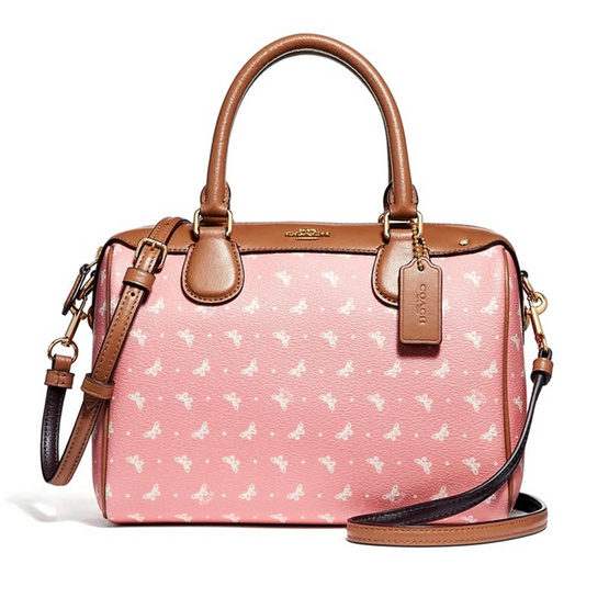 กระเป๋า COACH F29806 MINI BENNETT SATCHEL WITH BUTTERFLY DOT PRINT (IMM4C) [MCF29806IMM4C]