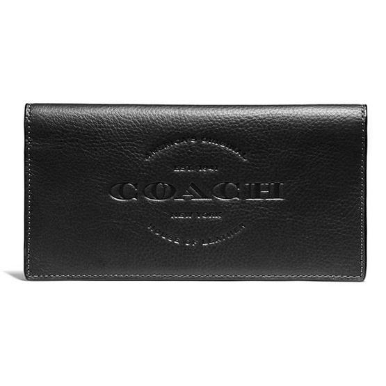 กระเป๋า COACH F24653 BREAST POCKET WALLET (BLK) [MCF24653BLK]