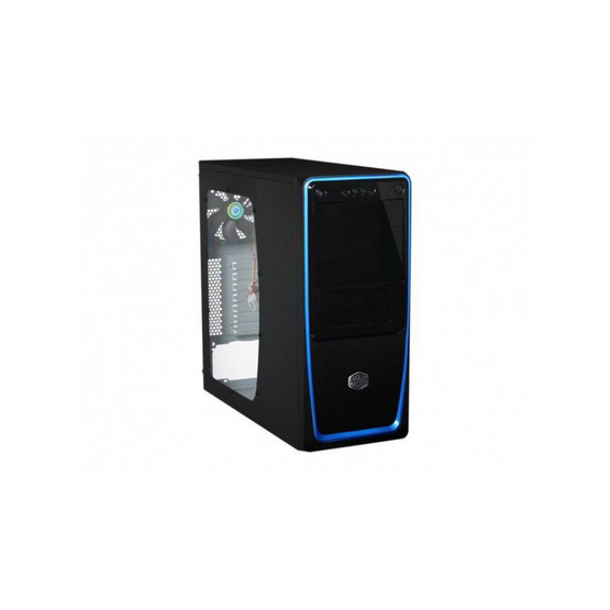 Cooler Master Case Elite 311 Blue USB3.0+USB2.0 Window Side Version