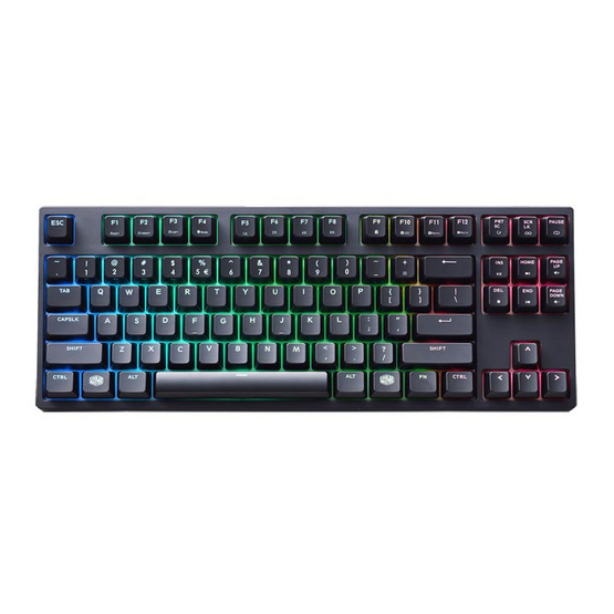 Cooler Master MasterKeys PRO S RGB Red Switch