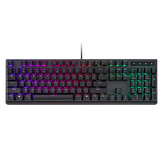 Cooler Master MasterKeys MK750 RGB TH Red Switch