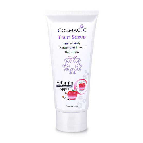 Cozmagic Vitamin C Fruit Scrub Immediately Brighter and Smooth Apple