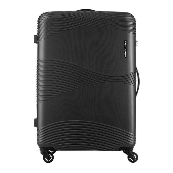 KAMILIANT กระเป๋าเดินทางรุ่น TEKU  SPINNER 78/29 TSA - BLACK