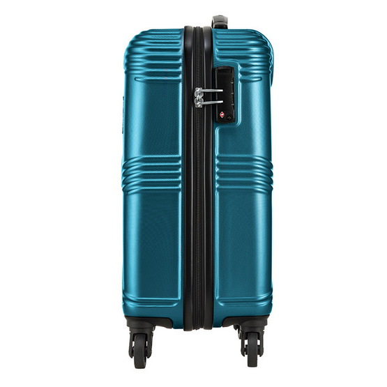 KAMILIANT กระเป๋าเดินทางรุ่น TEKU  SPINNER 55/20 TSA - PETROL BLUE