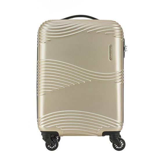 KAMILIANT กระเป๋าเดินทางรุ่น TEKU  SPINNER 55/20 TSA - LIGHT GOLD