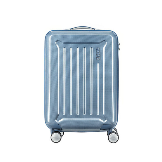 American Tourister กระเป๋าเดินทางรุ่น CRESTA SPINNER 55/20 TSA (20 นิ้ว)  สี BLUE CHECKS