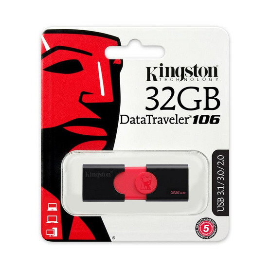 Kingston Flash drive DataTraveler 106 USB 3.0 32 GB