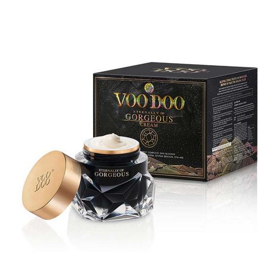 ใช้ได้ผลที่สุด VOODOO GORGEOUS CREAM 30 g ครีมหน้าใสแบบเกาหลี