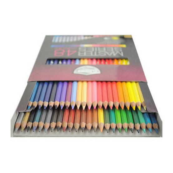 Master Art ดินสอสีมาสเตอร์อาร์ต 48 สี รุ่นมาสเตอร์ซีรี่ย์