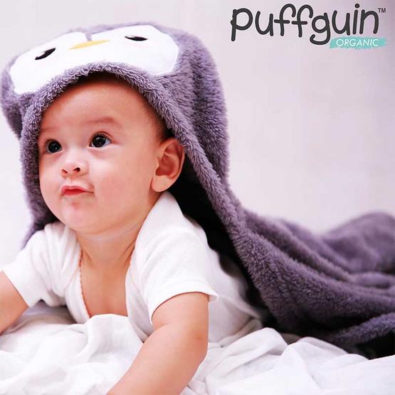 Puffguin ผ้าห่ม + หมอน 2 in 1 ขนาดผ้า 90x120 ซม.