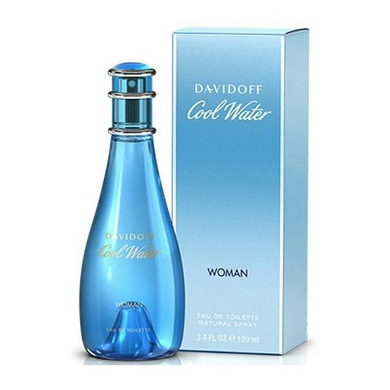 Davidoff Cool Water Women 100 ml น้ำหอมแท้ พร้อมกล่อง