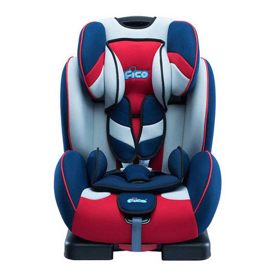 Fico Carseat รุ่น London Serie1: ES02-1 Red Blue
