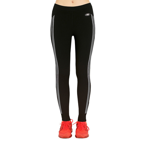 Teens Sport กางเกงฟิตเนสโยคะ ออกกำลังกาย TL-4-G สีดำ-เทา