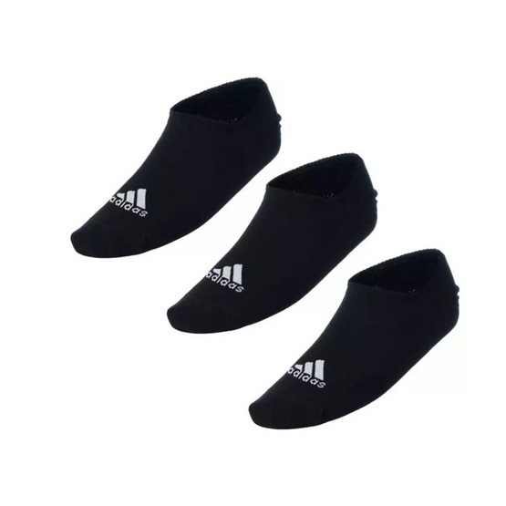 Adidas ถุงเท้า Adidas Performance Invisible Socks 3 Pairs CV7409 Black