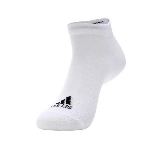 Adidas ถุงเท้า Adidas Performance no-show Thin 1PP AA2314 White/Black