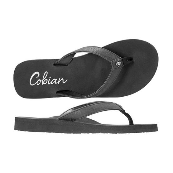 Cobian รองเท้าผู้หญิง SKB16-001 W-SKINNY BOUNCE SANDAL BLACK
