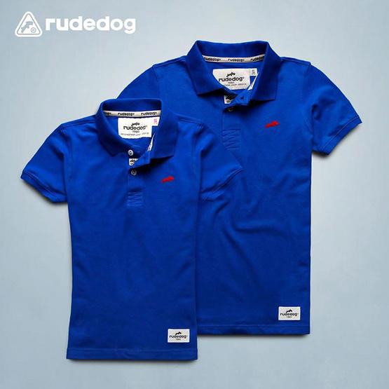 RUDEDOG เสื้อโปโล รุ่นแชมเปี้ยน สีน้ำเงิน