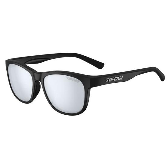 Tifosi แว่นตากันแดด SWANK Satin Black Smoke Bright Blue