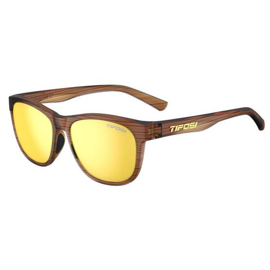 Tifosi แว่นตากันแดด SWANK Woodgrain Smoke Yellow