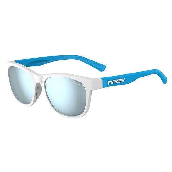 Tifosi แว่นตากันแดด SWANK Frost/Powder Blue Smoke Bright Blue