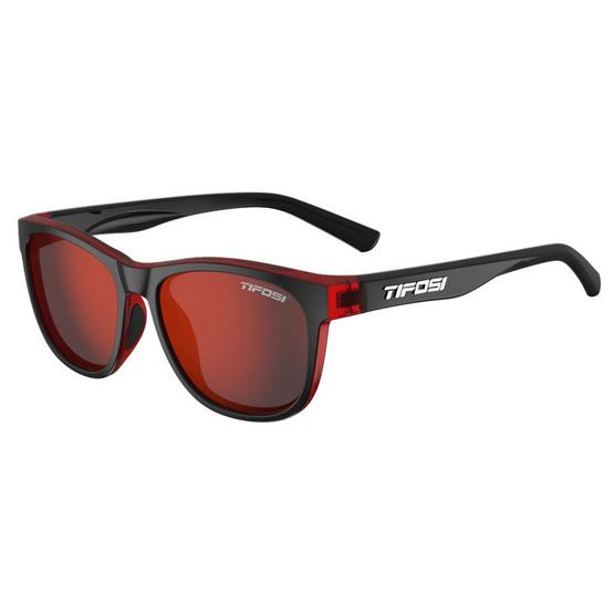 Tifosi แว่นตากันแดด SWANK Crimson/Onyx Smoke Red
