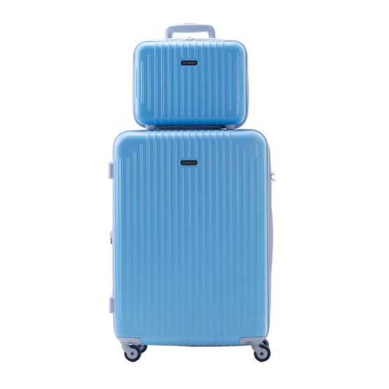 Caggioni เซ็ทกระเป๋าเดินทาง รุ่น Family Set ขนาด 25 นิ้ว + 12 นิ้ว