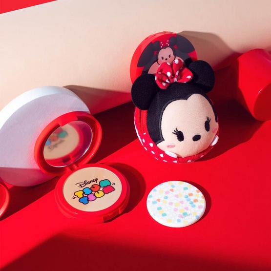 Cathy Doll Disney Tsum Tsum CC Powder Pact SPF40 PA+++ 12 g #25 Honey Beige (Mickey)
