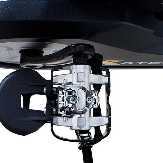 Grand Sport จักรยานสปินไบร์คพร้อมสายคาดหน้าอกวัดการเต้นหัวใจ รุ่น MB 8.5 C/B สีดำ-แดง