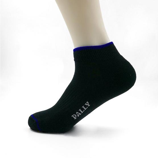 PALLY ถุงเท้า Sport Black Socks Weight 45 grams Black