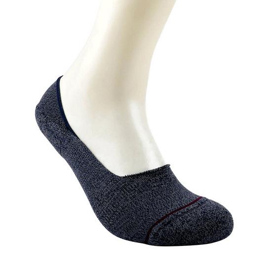 emoo ถุงเท้า Women's Premium Bamboo Seamless No Show Socks สี Charcoal