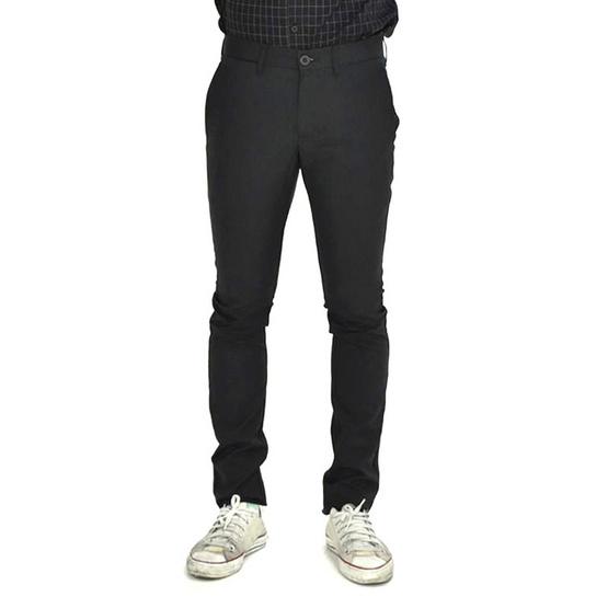 ERA-WON กางเกง Workday AntiBacteria ทรง Super Skinny fit 0512BL29 สี Black tech