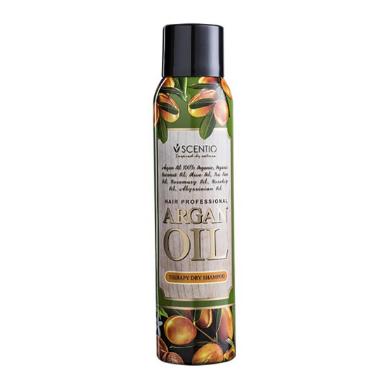Beauty Buffet Scentio Hair Professional Argan Oil Therapy Dry Shampoo 150 ml