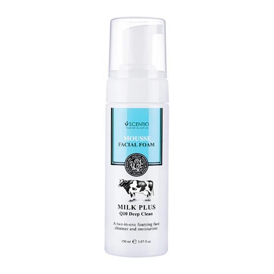Beauty Buffet Scentio Milk Plus Q10 Deep Clean Mousse Facial Foam 30 ml