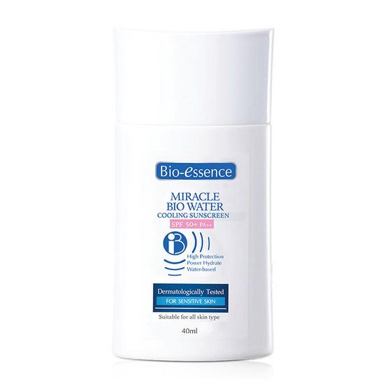 Bio essence โลชั่นกันแดด Miracle Bio Water Cool SPF50+ PA++ 40 มล.