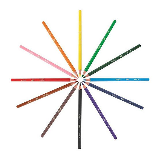 BIC Kids ดินสอสีไม้ Evolution 12 สี