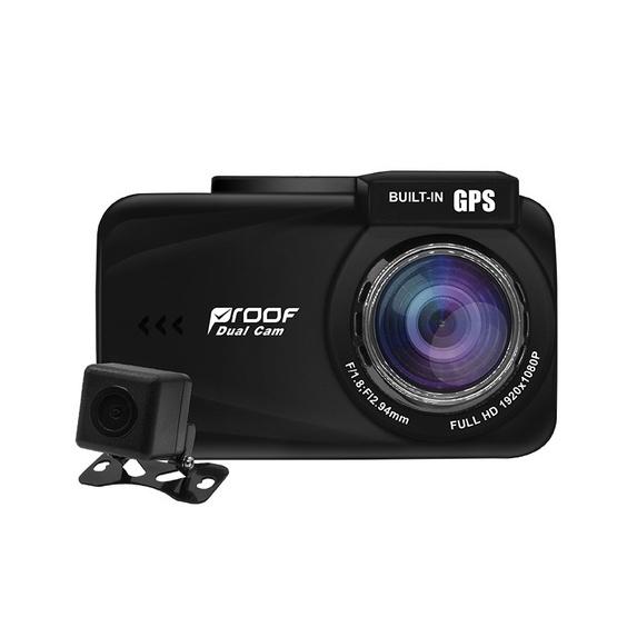 Proof กล้องติดรถยนต์ หน้า-หลัง รุ่น PF800 Full HD 1080P