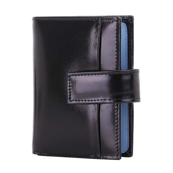 MOONLIGHT กระเป๋าใส่บัตร Moonlight หนังวัวแท้ รุ่น Professtional สีดำ