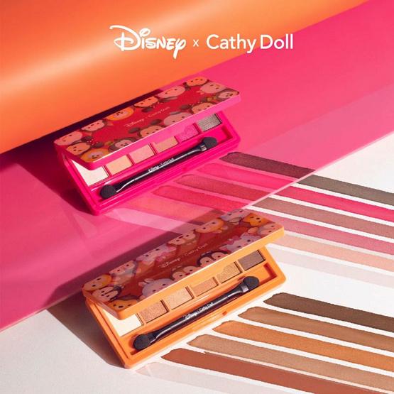Cathy Doll Disney Tsum Tsum Eyeshadow Palette (6 x 1 g) #02 Shimmery Gold