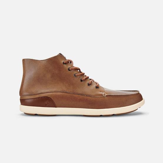 Olukai รองเท้าผู้ชาย 10376-6Z21 M-NALUKAI BOOT HUSK/SILT