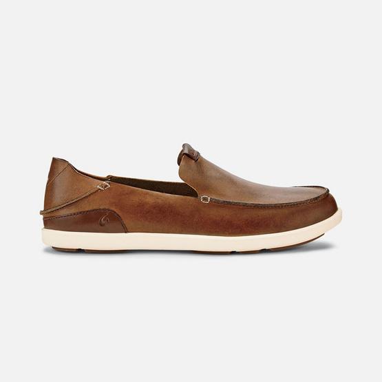 Olukai รองเท้าผู้ชาย 10379-FX19 M-NALUKAI SLIP-ON FOX/BONE