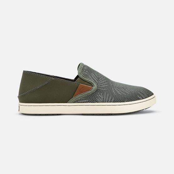 Olukai รองเท้าผู้หญิง 20271-TZER W-PEHUEA DUSTY OLIVE/PALM