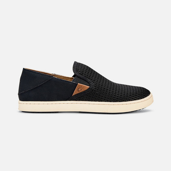 Olukai รองเท้าผู้หญิง 20271-4040 W-PEHUEA BLACK/BLACK