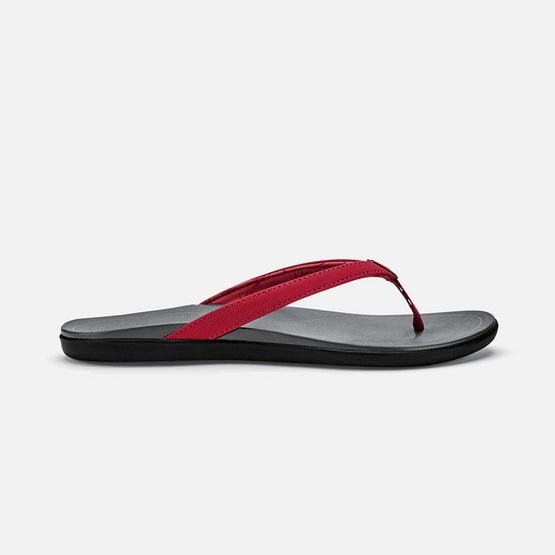 Olukai รองเท้าผู้หญิง 20294-TL26 W-HO'OPIO DEEP TEAL/CHARCOAL