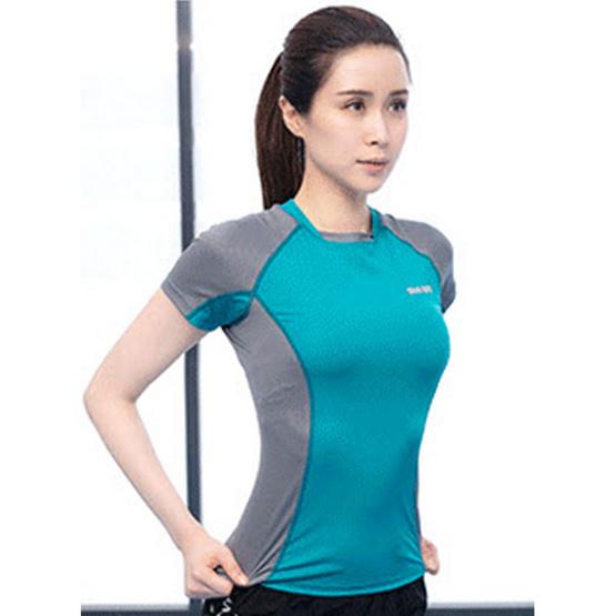 SIBOON เสื้อออกกำลังกาย SB Sport สีเขียว