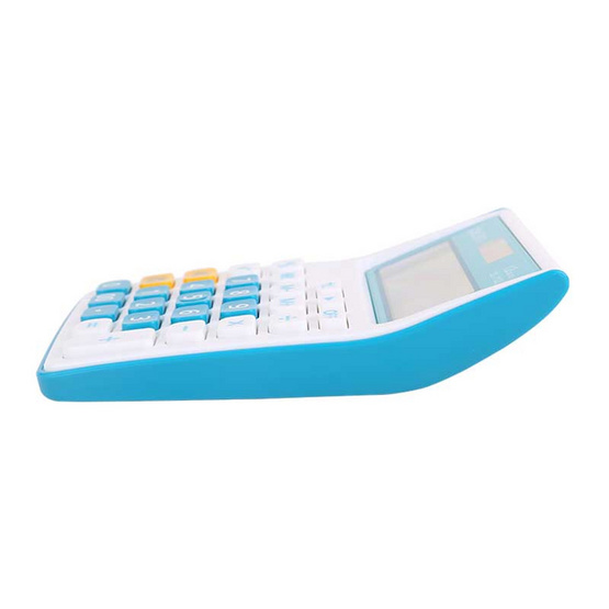 Deli เครื่องคิดเลขตั้งโต๊ะ 12 หลัก คละสีแฟนซี