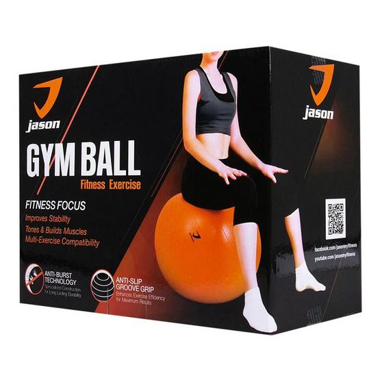 Jason ลูกบอลออกกำลังกายสีส้ม
