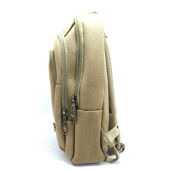 Dolphin bag กระเป๋าเป้  A3014 สีน้ำตาล
