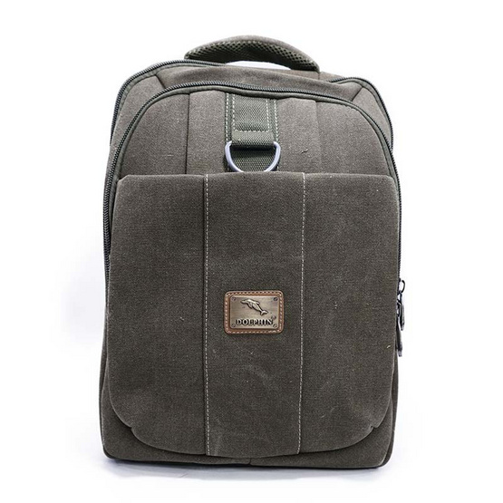 Dolphin bag กระเป๋าเป้  A3011 สีเขียว