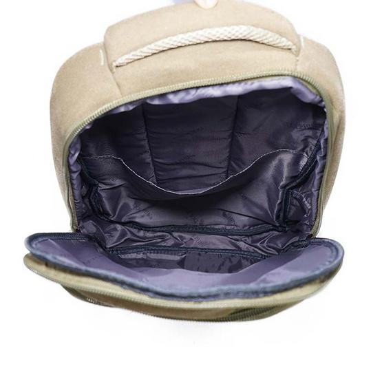 Dolphin bag กระเป๋าเป้ A3011 สีน้ำตาล