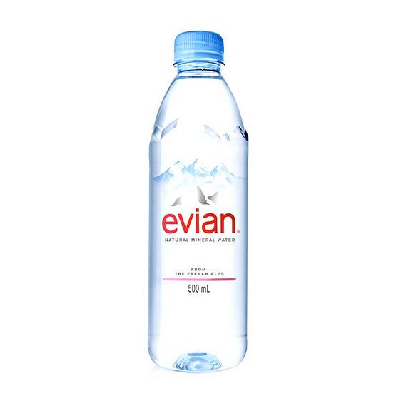 เอเวียง น้ำแร่ธรรมชาติขวดพลาสติก 500 มล.